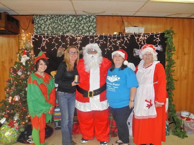 Christmas Party 2015 Santa