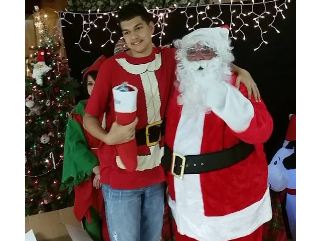 Christmas Party 2015 Santa and Me