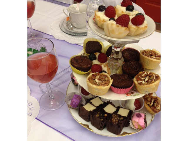 Fashion Show tea Party Fundraiser 2015 - Sweets