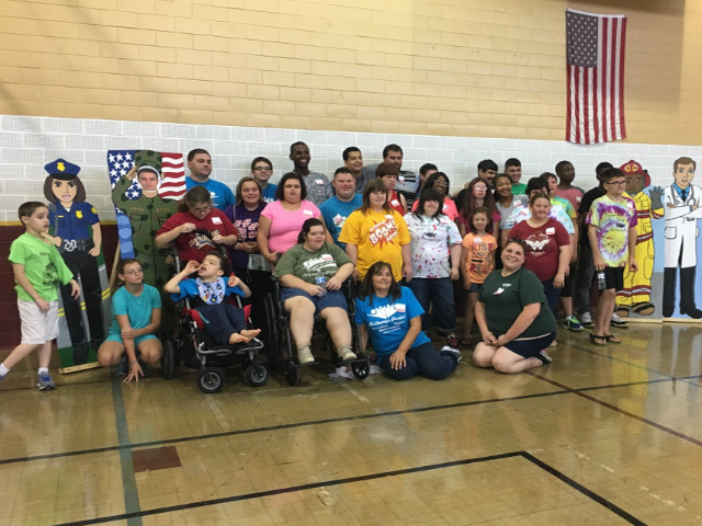 Brittany's Special friends Camp 2018