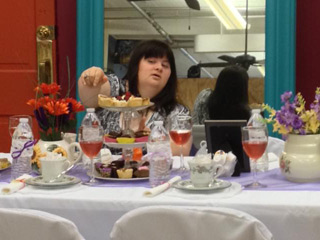 Fashion Show tea Party Fundraiser 2015 - Brittany