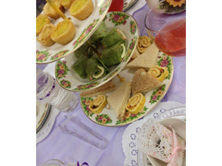 Fashion Show tea Party Fundraiser 2015 - Food